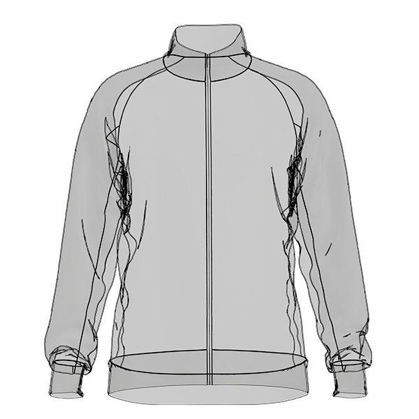 Scribble idea of a sportive jacket